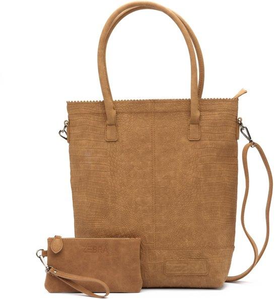 ac82f30527de1 Zebra Trends Natural Bag shopper camel