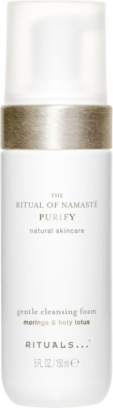 RITUALS The Ritual of Namasté Gentle Cleansing Foam, Purify Collection, 150 ml