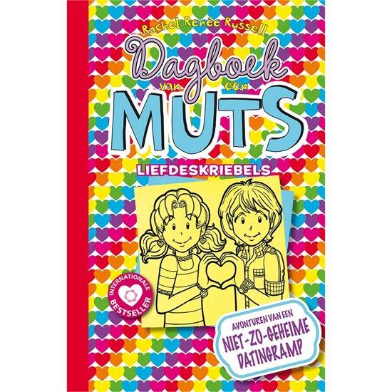 Boek cover Dagboek van een muts 12 - Liefdeskriebels van Rachel Renée Russell (Hardcover)