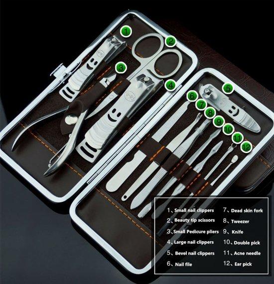 Manicure set - 12 delig