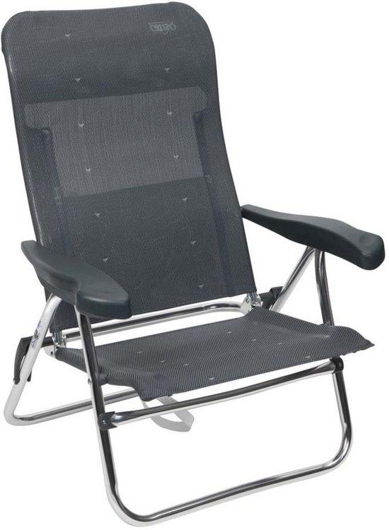 Crespo Strandstoel Aanbieding.Crespo Strandstoel Al 205 Donker Grijs 40