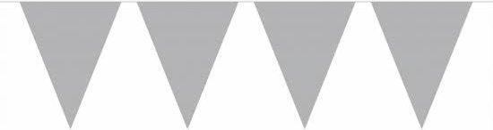 Vlaggenlijn zilver 10 meter