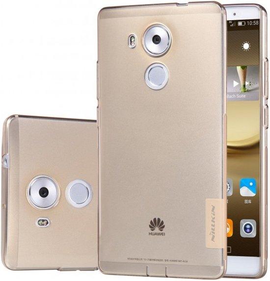 Nillkin Nature TPU Case voor de Huawei Mate 8 - Brown in Langweer / Langwar