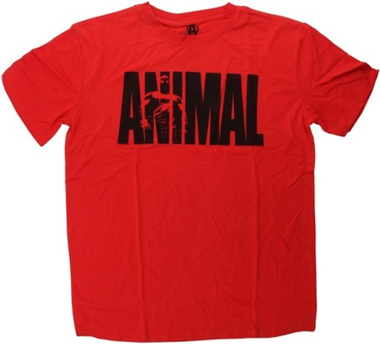 Animal Iconic Shirt Maat M Iconic Red