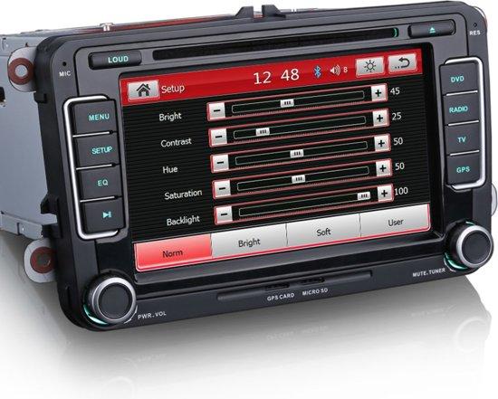 RNS 510 look radio vw navigatie bluetooth usb  Volkswagen seat skoda incl achteruitrijcamera