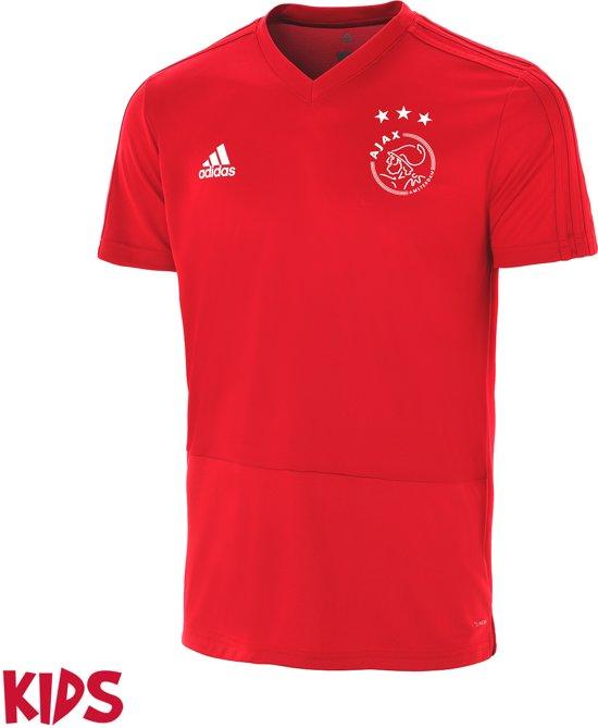 Adidas Training Ajax Shirt Maat 2019Rood 128 Kinderen Thuis 2018 OPuTwiXkZ