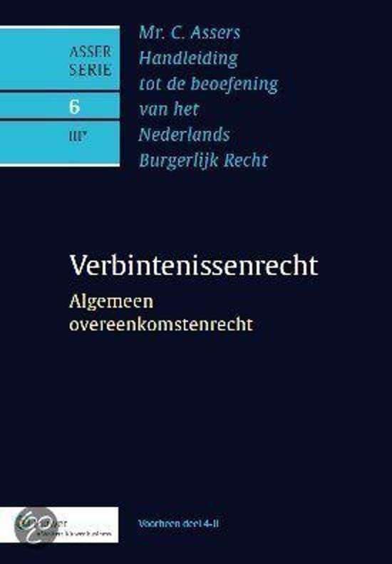 Mr. C. Assers Handleiding Tot De Beoefening Van Het Nederlands Burgerlijk Recht