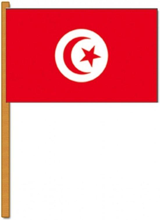 Luxe zwaaivlag Tunesie