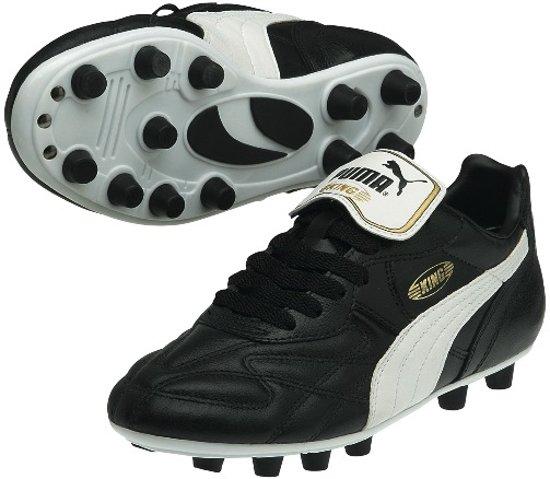 Puma Roi Top Di Fg, Chaussures De Soccer Féminin - Noir, Taille: 42