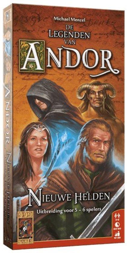 De Legenden van Andor Uitbreiding: Nieuwe Helden - 5/6 Personen