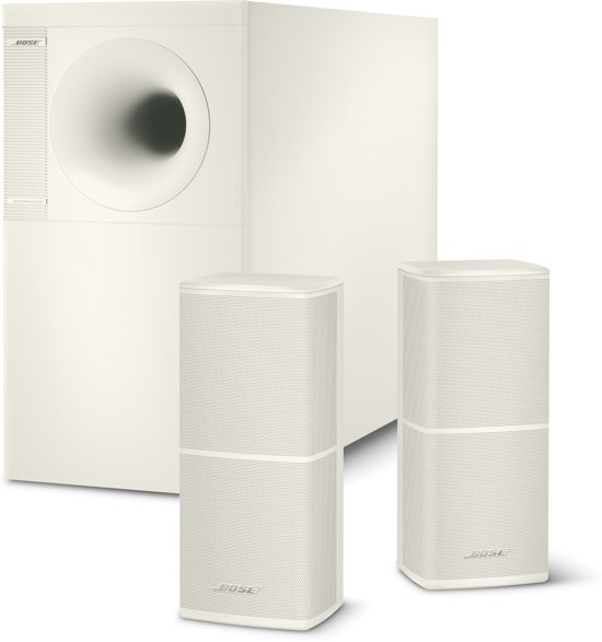 bose acoustimass 5 serie v 2 1 speakerset wit. Black Bedroom Furniture Sets. Home Design Ideas