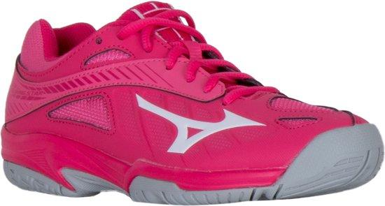 Mizuno Lightning Star Z4 Jr roze  volleybalschoenen meisjes (V1GD180361)