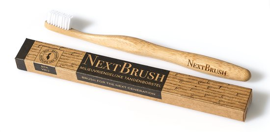 NextBrush Bamboe Tandenborstel MEDIUM