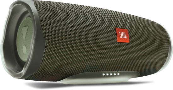 JBL Charge 4 - Draagbare Bluetooth Speaker - Groen