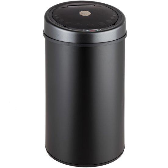 afvalemmer vuilnisbak prullenbak met sensor 50 l 400827. Black Bedroom Furniture Sets. Home Design Ideas