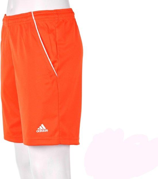 adidas Boy's Traditional Bermuda - Korte broek - Kinderen - Maat 176 - Oranje