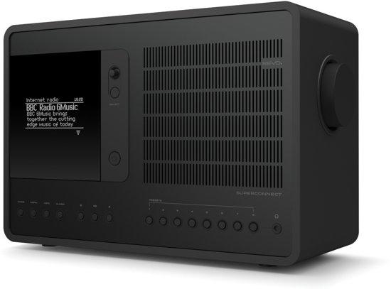 Revo SuperConnect Draagbaar Digitaal Zwart radio