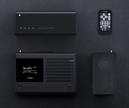 FonQ SuperConnect - DAB+ - internet radio en Spotify - Zwart/Zwart