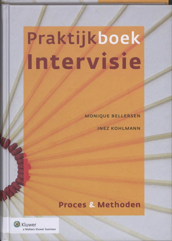 Boek cover Praktijkboek Intervisie van Monique Bellersen (Hardcover)