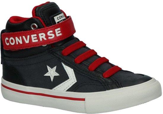 f6355b7ac5f3ed Converse Jongens Sneakers Pro Blaze Strap Hi Kids - Grijs - Maat 27