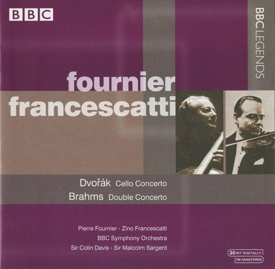 Dvorak: Cello Concerto; Brahms: Double Concerto