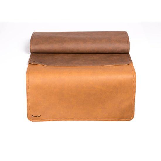 Pavelinni tafelloper Vintage 45x120cm Orange/Brown