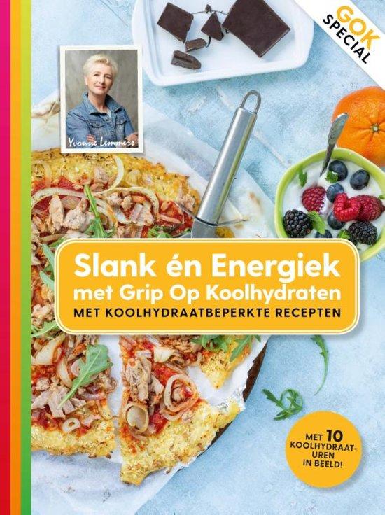 Boekomslag voor Slank en energiek met Grip op koolhydraten