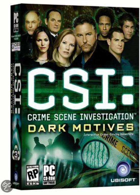 Csi Crime Scene Investigation 2: Dark Motives - Windows