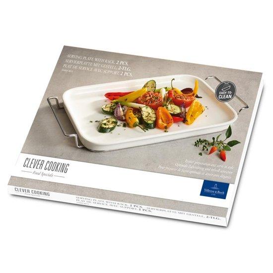 Villeroy & Boch Clever Cooking Serveerschaal 27 x 49 cm