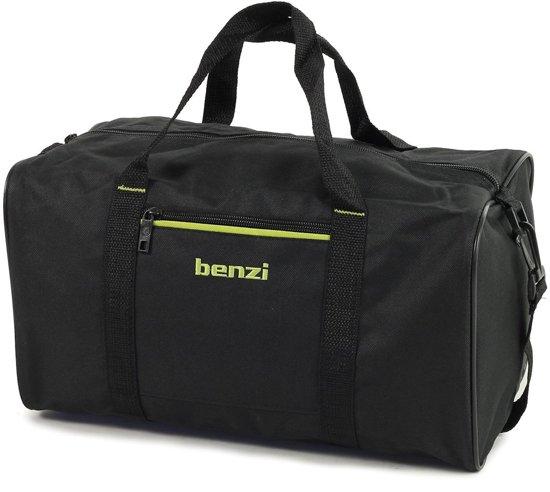 Benzi Klein Reistasje Ryanair 2e Handbagage Zwart Lime 3379