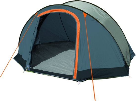 Eurotrail Jump 2 Pop out - Pop-up tent - 2-Persoons - Grijs