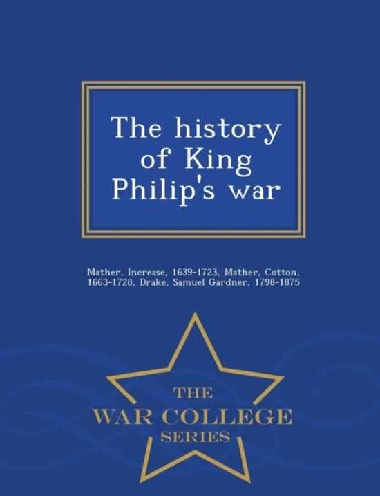 a history of king philips war