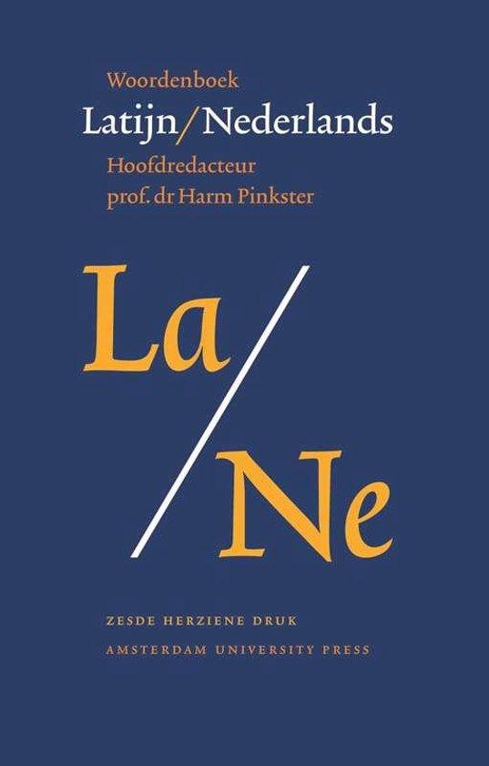 Boek cover Woordenboek Latijn / Nederlands van Harm Pinkster (Paperback)