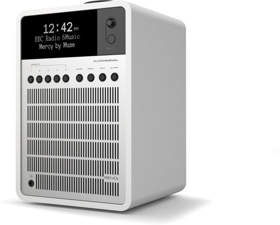 Revo Audio SuperSignal - DAB+ Radio - Wit/Zilver