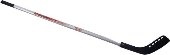 Nijdam IJshockeystick Aluminium - 135 cm - Zilver/Oranje