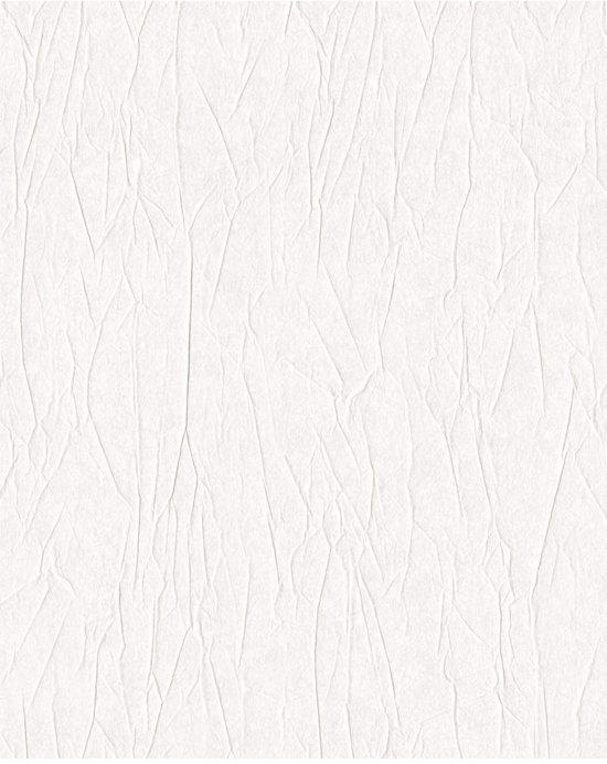 Vliesbehang uni wit behang (vliesbehang, wit)