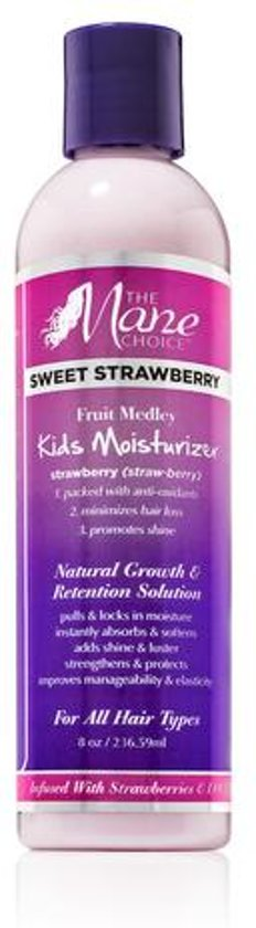 The Mane Choice Sweet Strawberry Fruit Medley Kids Moisturizer 234ml