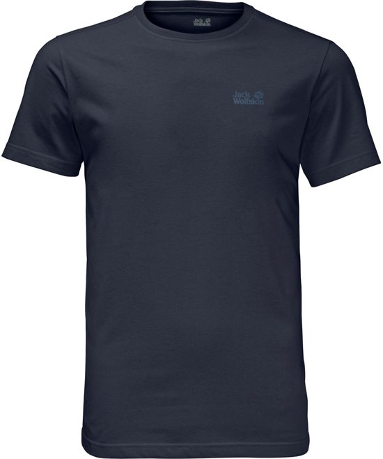 T Jack Shirt Essential Blue Night Men Wolfskin Heren OxEq4xCHw