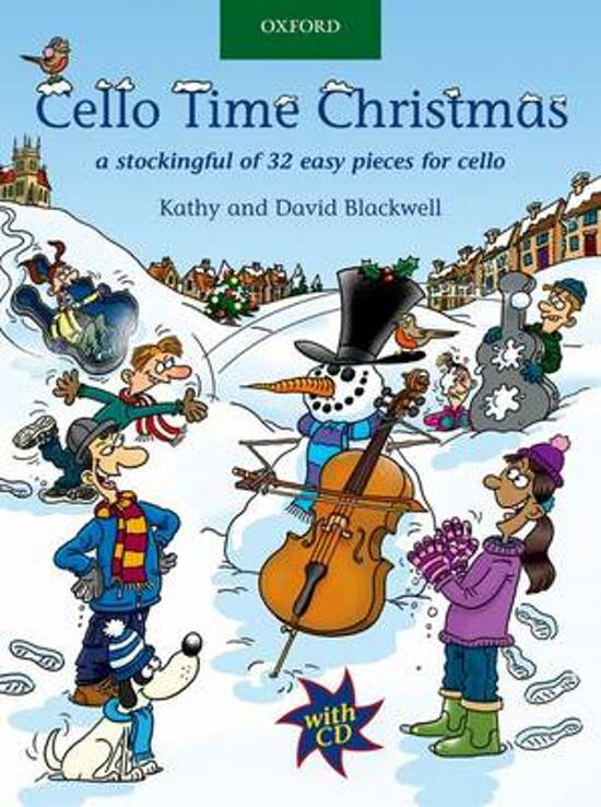 Boek cover Cello Time Christmas + CD van Kathy Blackwell (Onbekend)