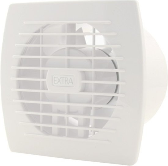 bol.com | Badkamer ventilator diameter 120 mm WIT - basis E120