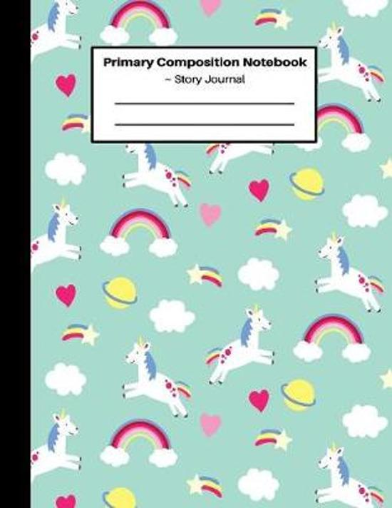 Primary Composition Notebook Story Journal