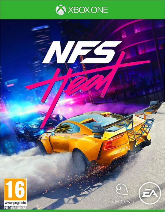 Cover van de game Need for Speed: Heat - Xbox One