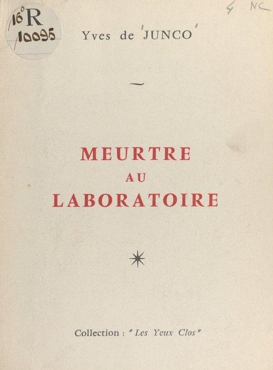 Meurtre au laboratoire