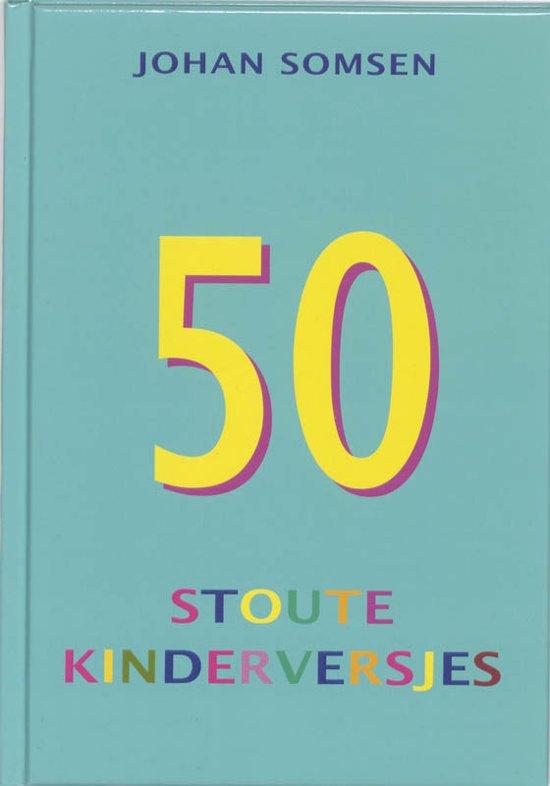 Cover van het boek 'Vijftig stoute kinderversjes' van J. Somsen