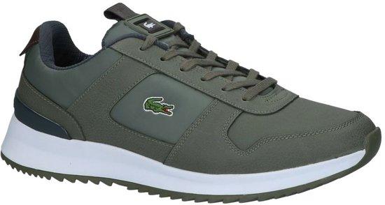 Heren khaki 318 Maat Gekleed Da7 Lacoste 0 Groen;groene Laag 2 1 Joggeur Grey 41 dark Sneaker 736spm0022 znqFwBt6