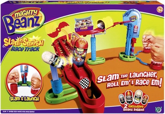Mighty Beanz Race Track - Snake Track