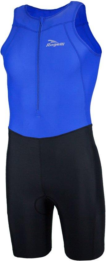 Rogelli Florida - Triathlonpak - Maat XL - Zwart/Blauw