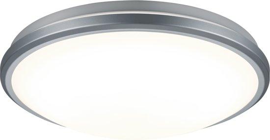 Trio Lighting Alcor - Plafondlamp - met sensor - 1 lichts - Ø 320 mm - grijs