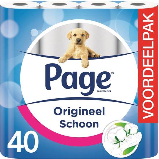 Page toiletpapier– 40 rollen voor €9,99!