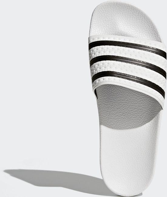 Adidas Adilette Slippers Volwassenen - White/core Black/white